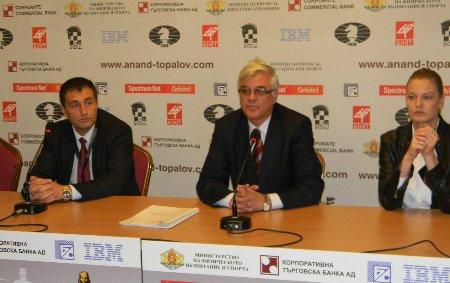 Albena press conference