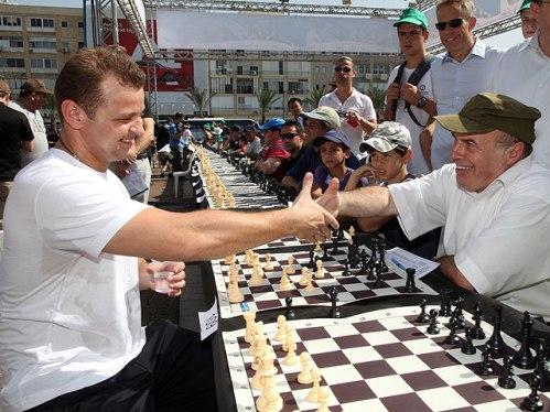 Alik Gershon and Nathan Sharansky