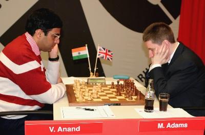 Anand-Adams Corus 2008