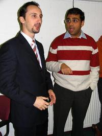 Anand and Topalov funny