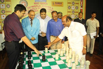 Anand world junior