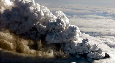 Ash cloud Europe