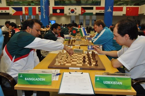 Asian Games Bangladesh-Uzbekistan-M
