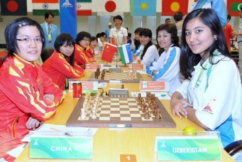 Asian Games China-Uzbekistan