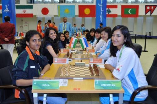 Asian Games India-Uzbekistan-WSF