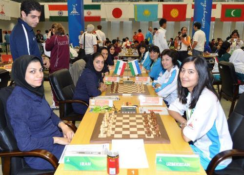 Asian Games Iran-Uzbekistan