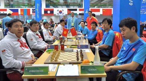 Asian Games Kyrgyzstan-China