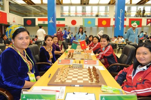 Asian Games Turkmenistan-Vietnam
