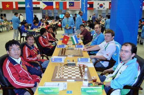 Asian Games Vietnam-Uzbekistan