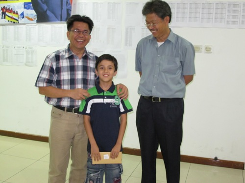 BCF Young Visitor with Prize