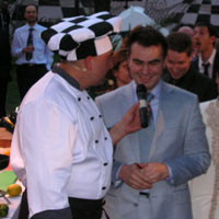 Black-White Mamedyarov cooking