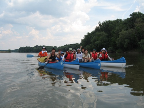 canoe trip arad