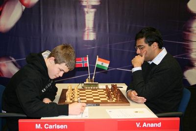 Carlsen Anand Corus 2007