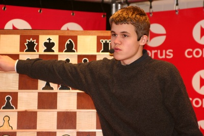 Carlsen press conference 1
