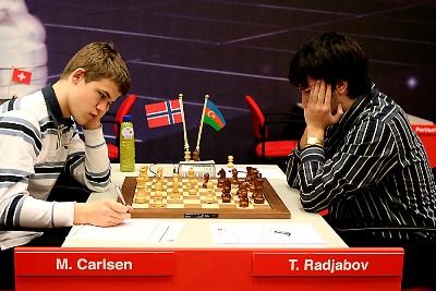 Carlsen-Radjabov