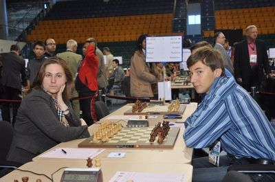 Chess Olympiad Georgia