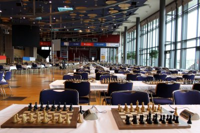 chess olympiad playing hall