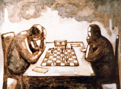 chess painting