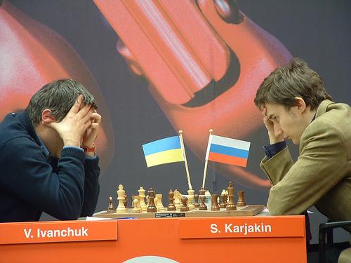 Corus 10 Ivanchuk-Karjakin