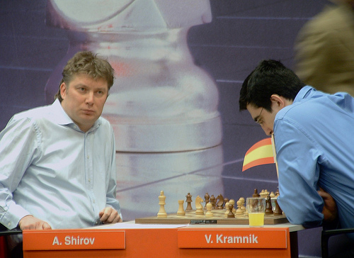 Corus 10 Shirov-Kramnik