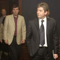 Danailov and the President Parvanov