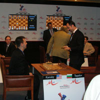 DAY 09 - Topalov receives a Medal