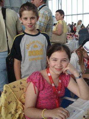 EYCC Bilel Bellahcene, Andreea-Cristiana Navrotescu