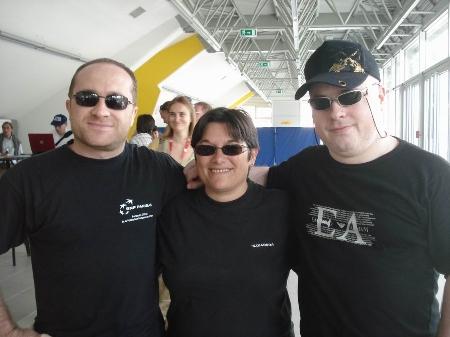 EYCC Vincent Moret, Christine Flear, Arnaud Hauchard