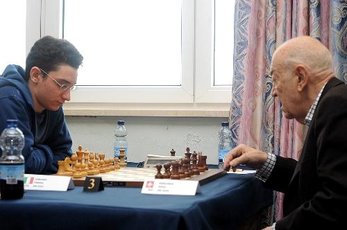 Gibraltar Caruana Korchnoi