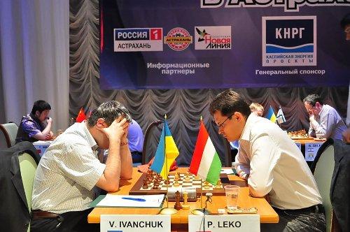 GP Astrakhan Ivanchuk Leko