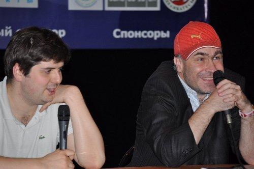 GP Astrakhan Svidler Ivanchuk