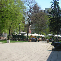 Grand Hotel Sofia garden4