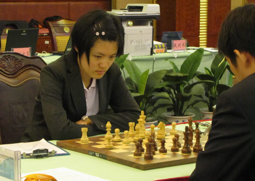 Hou Yifan - Zhao Jun