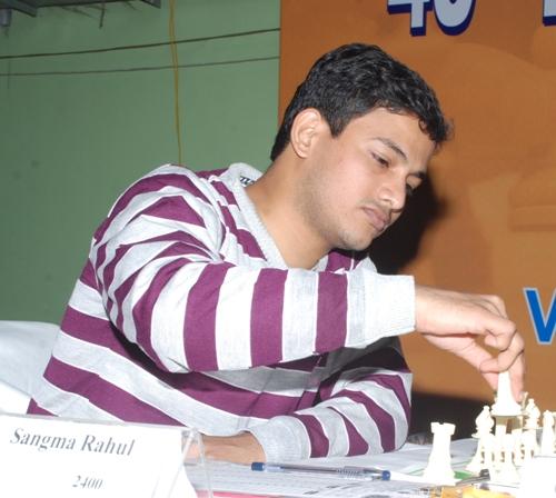 India IM Rahul Sangma