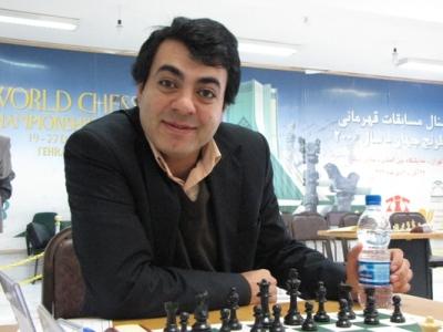 Iran GM Shojaat Ghane