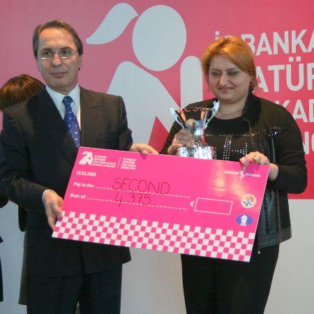 Istanbul GP Elina prize