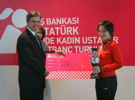 Istanbul GP Yifan prize