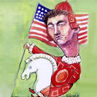 Kamsky funny caricature