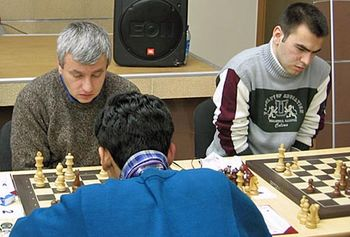 Kiril Georgiev and Mamediarov