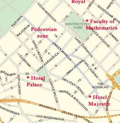 knez-mihajlova mapa