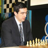 Kramnik at Corus