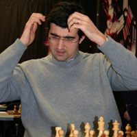 Kramnik in trouble