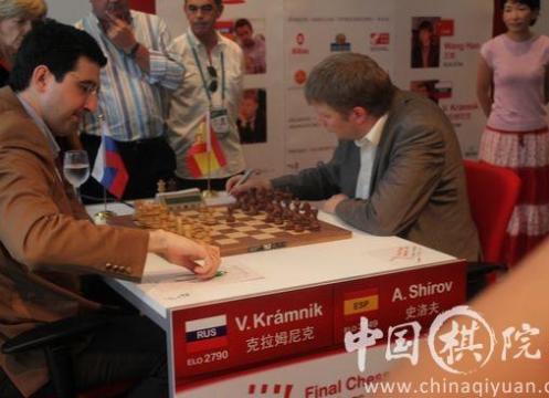 Kramnik Shirov