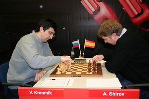Kramnik Shirov Corus 2007