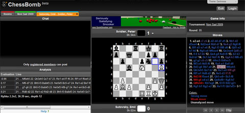 Live chess