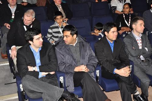 London Anand Kramnik Nakamura Adams