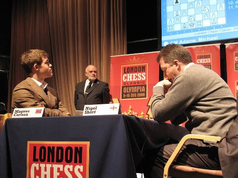 London carlsen-short