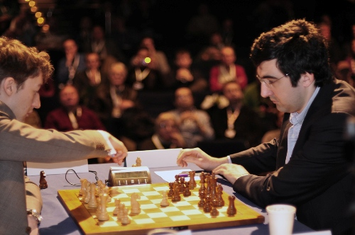 London McShane Kramnik rd 3