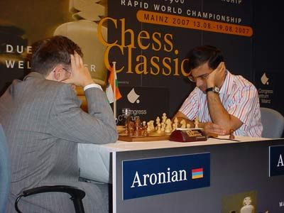 Mainz Aronian Anand day 1