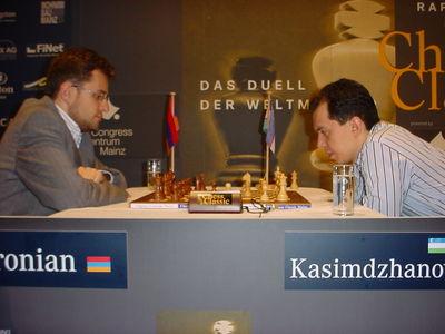 Mainz Aronian Kasimdzhanov day 2